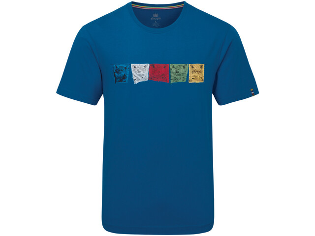 Sherpa Tarcho Camiseta Hombre, kongde blue